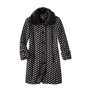 Merona Polka Dot Coat